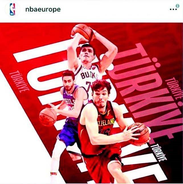 NBA'in yayınladığı ilk fotoğrafta Enes Kanter yok.