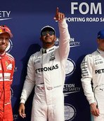 Michael Schumacher'i yakaldı