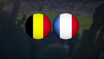 Belçika-Fransa | CANLI
