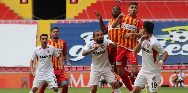 Kayserispor 1-1 Gaziantep FK | MAÇ SONUCU - Futbol -