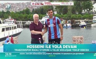 Trabzonspor Hosseini ile yola devam edecek