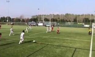 Cristiano Ronaldo'nun oğlundan harika gol!