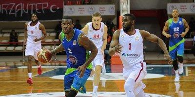 Gaziantep Basketbol galibiyete hasret
