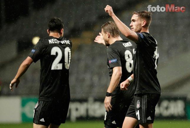 İşte Braga-Beşiktaş maçından kareler!
