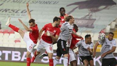 Besiktas draw goalless with Sivasspor