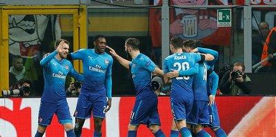 Arsenal avantajlı: 2-0