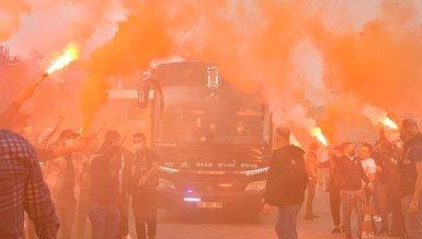 Beşiktaş'a coşkulu uğurlama!