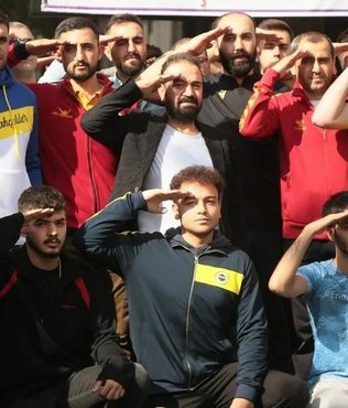 Malatya'dan Barış Pınarı'na selam