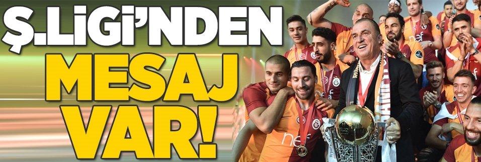Şampiyonlar Ligi'nden Galatasaray'a mesaj!