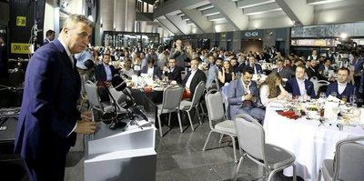 Beşiktaş camiası iftar yemeğinde buluştu