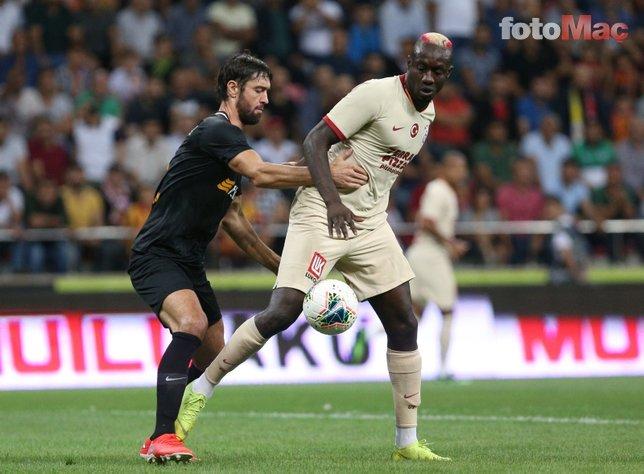 Kayserispor-Galatasaray maçından kareler