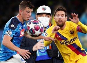 Napoli Barcelona maçında kırmızı alarm! Koronavirüs...