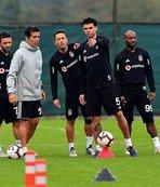 Beşiktaş'ta Başakşehir hazırlıkları sürdü