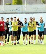 A Milli Futbol Takımı, Trabzon'da çalıştı