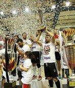 Beşiktaş Mogaz, şampiyonluk kupasına kavuştu