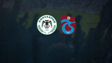 Konyaspor - Trabzonspor maçı CANLI