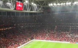 Türk Telekom Stadyumu'nda Ceddin Deden Neslin Baban sesleri