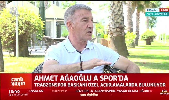trabzonspor kulubu baskani ahmet agaoglu bize agir kufurler edildi 1592912862060 - Trabzonspor Divan Kurulu Başkanı Ali Sürmen: Başakşehir'in rakiplerine maç kaybettiriyorlar