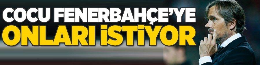 Cocu Fenerbahçe'ye onları istiyor!