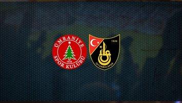 Ümraniyespor – İstanbulspor maçı saat kaçta? Hangi kanalda?