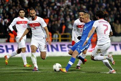 Türkiye-Slovakya:1-2
