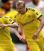 Dortmund son nefeste hayata tutundu! Haaland...
