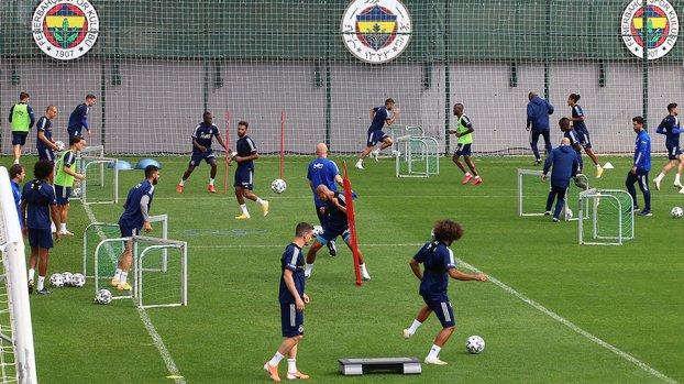 Fenerbahçe'de Nabil Dirar idmana katılmadı! #
