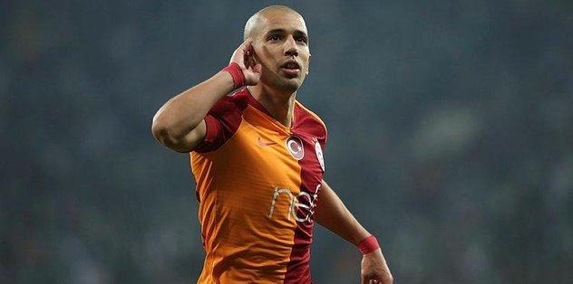 Galatasaray'dan müthiş geri dönüş   Bursaspor 2-3 Galatasaray