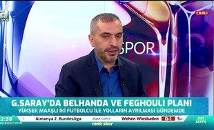 Belhanda ve Feghouli Galatasaray'dan ayrılacak mı? Canlı yayında açıkladı
