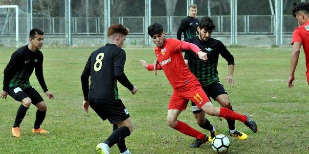 Kayserispor U21 Akhisar yolcusu