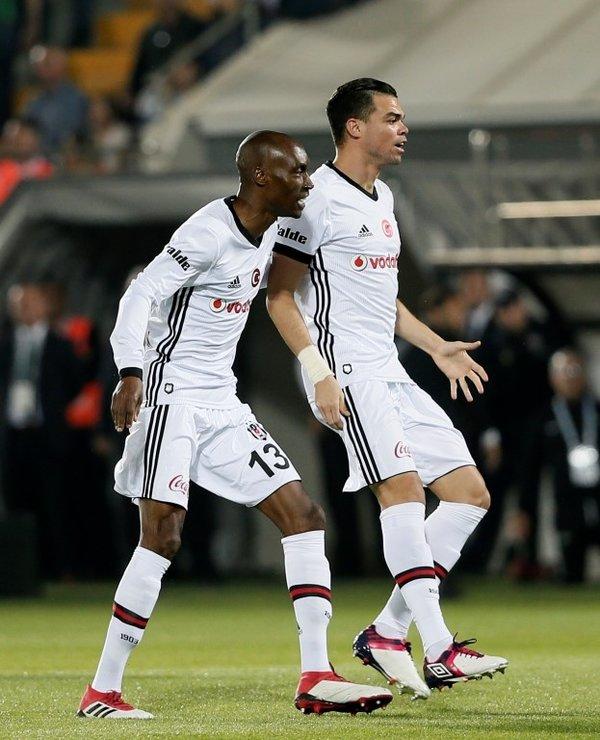 İşte Akhisarspor - Beşiktaş maçından kareler