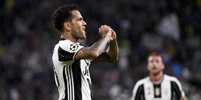 Dani Alves'ten Juventuslulara veda mesajı