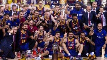 İspanya basketbol liginin şampiyonu Barcelona!