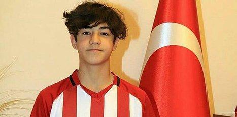 14 yaşındaki Efekan Fenerbahçe'ye transfer oldu