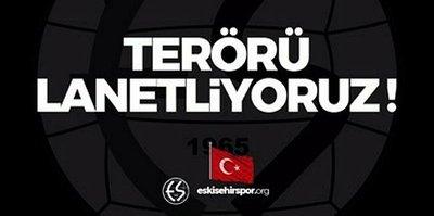 Eskişehirspor'dan başsağlığı mesajı