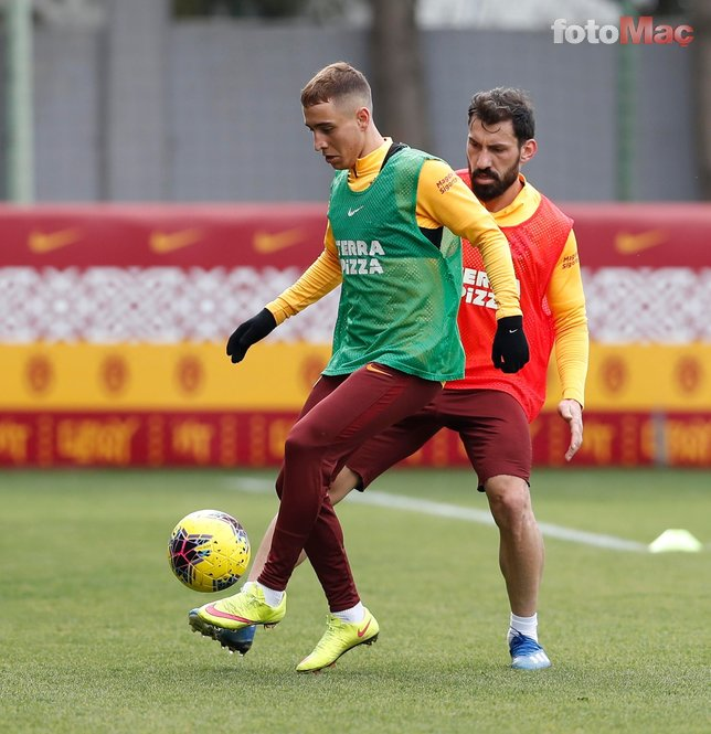 Galatasaray idmanında iki sürpriz birden!