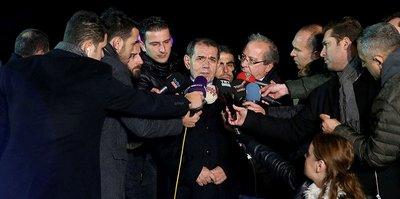 """Dursun Özbek: """"Kimse endişe etmesin..."""""""