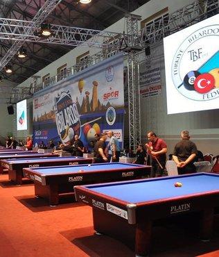 Türkiye Bilardo Şampiyonası'nda final etabı