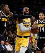 Lakers, LeBron'la kazandı