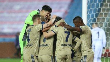 Trabzonspor - Fenerbahçe: 0-1 (MAÇ SONUCU - ÖZET)