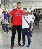Milli güreşçi Taha Akgül, ABD'ye gitti