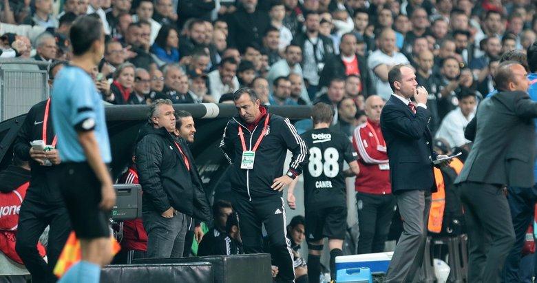 Beşiktaş'ta Caner Erkin'den Abdullah Avcı'ya flaş tepki!