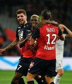 Lille sahasında kazandı
