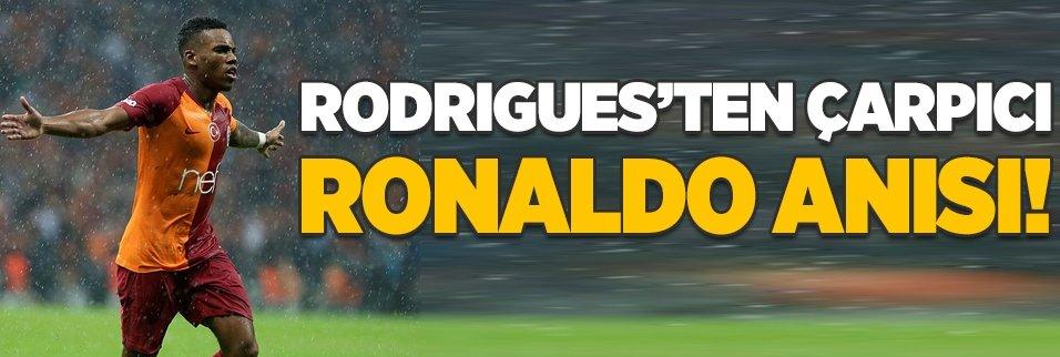 Garry Rodrigues'in çarpıcı Cristiano Ronaldo anısı!