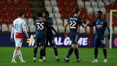 Arsenal whip Slavia Prague to go to Europa League semis