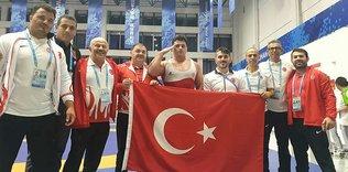 Rıza Kayaalp Dünya Askeri Oyunları'nda şampiyon oldu