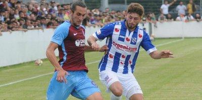 Trabzonspor, Heerenveen ile yenişemedi