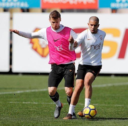 Galatasarayda derbi hazırlıkları sürüyor