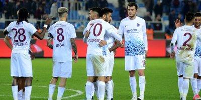 Trabzonspor'da yedekler yüzleri güldürdü