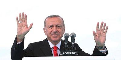 Cumhurbaşkanı Erdoğan Galatasaray'ı kutladı
